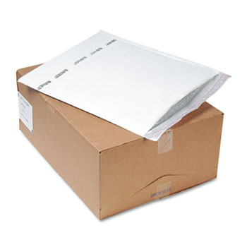 Sealed Air Jiffy TuffGard Self-Seal Cushioned Mailer, #3, 8 1/2 x 14 1/2, White, 100/CT