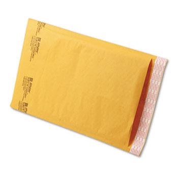 Sealed Air Jiffylite Self-Seal Mailer, #3, 8 1/2 x 14 1/2, Golden Brown, 100/Carton