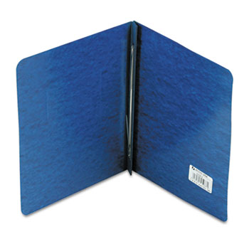 "ACCO® Pressboard Report Cover, Prong Clip, Letter, 3"" Capacity, Dark Blue"