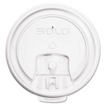 Hot Cup Lids, White, 1000/Carton