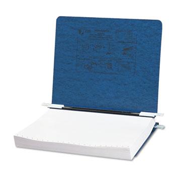 "ACCO® PRESSTEX Covers w/Storage Hooks, 6"" Cap, Dark Blue"