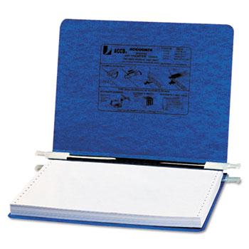 "ACCO® PRESSTEX Covers w/Storage Hooks, 6"" Cap, 8 1/2 x 12, Dark Blue"