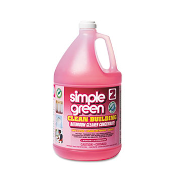 Simple Green® Clean Building Bathroom Cleaner Concentrate, Unscented, 1gal Bottle