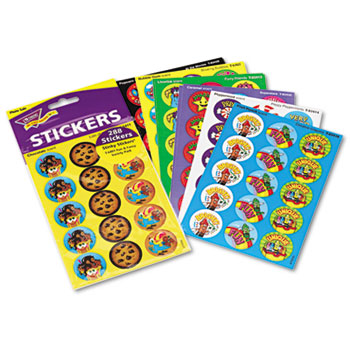 TREND® Stinky Stickers Variety Pack, Colorful Favorites, 300/Pack