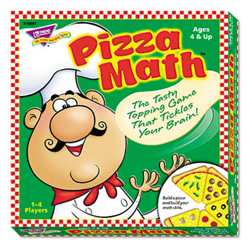 TREND® Pizza Math Game, Ages 4 and Up