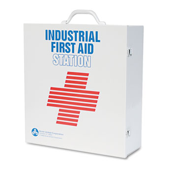 Industrial First Aid Kit for 100 People, Contains 763 Pieces