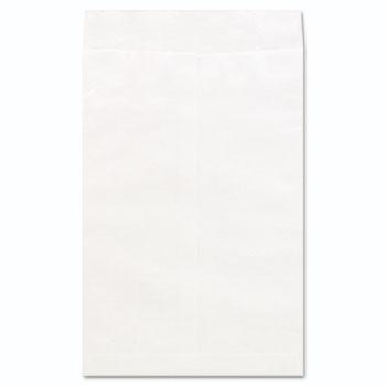 Universal® Deluxe Tyvek Envelopes, #15, Squa Flap, Self-Adhesive Closure, 10 x 15, White, 100/Box