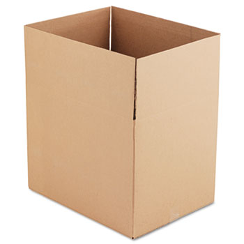 """General Supply Fixed-Depth Shipping Boxes, Regular Slotted Container (RSC), 24"""" x 18"""" x 18"""", Brown Kraft, 10/Bundle"""