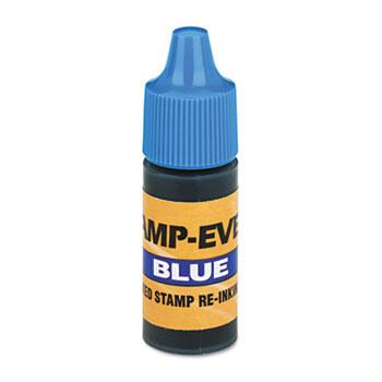 Refill Ink for Clik! & Universal Stamps, 7ml-Bottle, Blue