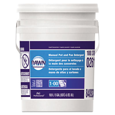 Manual Pot & Pan Dish Detergent, Original Scent, Five Gallon Pail - PGC02611-ESA