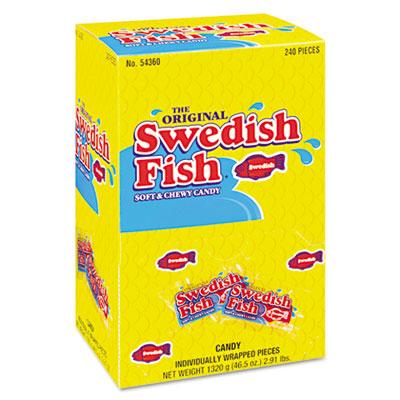 Grab-and-Go Candy Snacks In Reception Box, 240-Pieces/Box - CDB43146-ESA