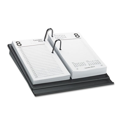 Desk Calendar Refill, 3 1/2 x 6, White, 2017 - AAGE71750-ESA