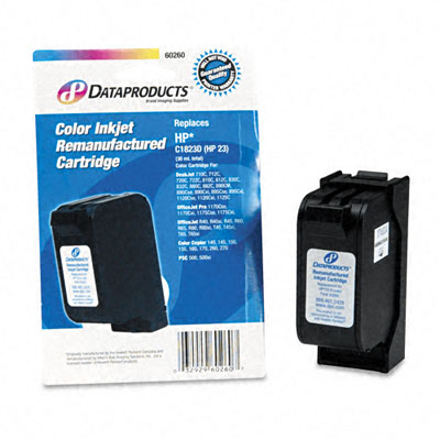 60260 Compatible Remanufactured Ink, 575 Page-Yield, Tri-Color - DPSDPC23D