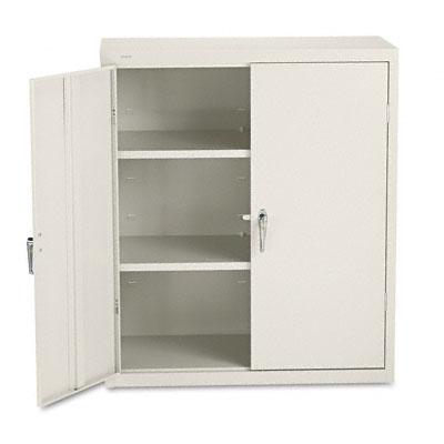 Assembled Storage Cabinet, 36w x 18d x 41 3/4h, Putty - HONSC1842L
