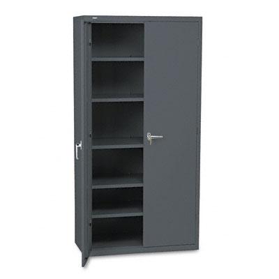 Assembled Storage Cabinet, 36w x 18-1/4d x 71-3/4h, Charcoal - HONSC1872S