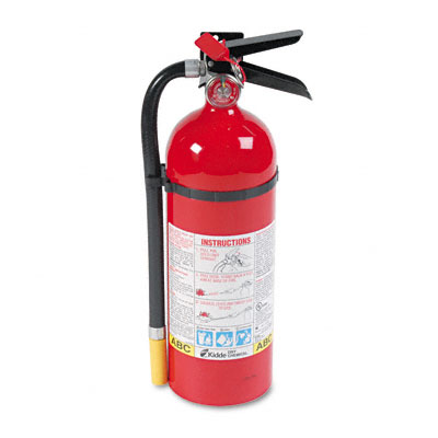 Pro Line Tri-Class Dry Chemical Fire Extinguisher, Charge Weight 5 lbs. - KID466112