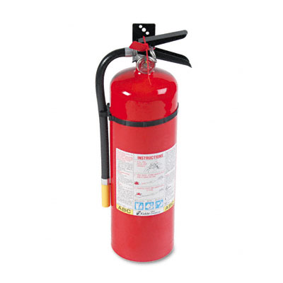 Pro Line Tri-Class Dry Chemical Fire Extinguisher, Charge Weight 10 lbs. - KID466204