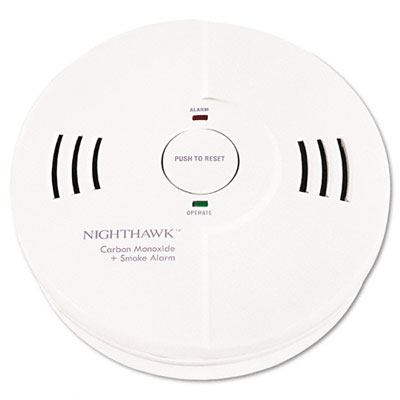 Battery Powered Night Hawk Combination Smoke/CO Alarm with Voice/Alarm Warning - KID9000102