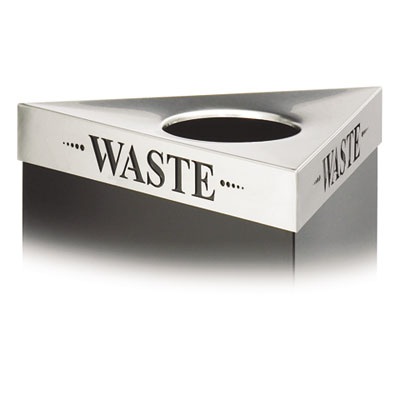 Trifecta Waste Receptacle Lid, Laser Cut