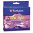 Verbatim® Dual-Layer DVD+R Discs, 8.5GB, 8x, w/Jewel Cases, 5/Pack, Silver Thumbnail 1