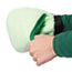 Boardwalk® Grip-N-Flip 10 Sided Microfiber Mitt, 7 x 6, Green Thumbnail 2