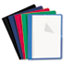 Universal® Clear Front Report Cover, Tang Fasteners, Letter Size, Assorted Colors, 25/Box Thumbnail 1