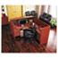 "Alera® Alera Valencia Series Straight Front Desk Shell, 71"" x 35.5"" x 29.63"", Medium Cherry Thumbnail 4"
