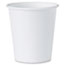 SOLO® Cup Company White Paper Water Cups, 3oz, 100/Pack Thumbnail 1