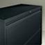 Alera® Two-Drawer Lateral File Cabinet, 30w x 18d x 28h, Black Thumbnail 2