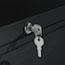 Alera® Two-Drawer Lateral File Cabinet, 30w x 18d x 28h, Black Thumbnail 3