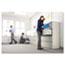 Alera® Two-Drawer Lateral File Cabinet, 42w x 18d x 28h, Light Gray Thumbnail 3