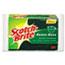 3M Scotch-Brite™ Heavy-Duty Scrub Sponge, 4 1/2 x 2 7/10 x 3/5 Green/Yellow, 3/Pack Thumbnail 1
