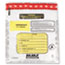 MMF Industries™ Tamper-Evident Deposit/Cash Bags, Plastic, 9 x 12, White, 100 Bags/Box Thumbnail 2