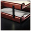 Rolodex™ Wood Tones Letter/Legal Desk Tray Stackers, 4 Tier, Metal, Black Thumbnail 2