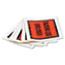 Quality Park™ Full-Print Self-Adhesive Packing List Envelope, Orange, 5 1/2 x 4 1/2, 1000/Box Thumbnail 2