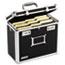 Vaultz® Locking File Tote Storage Box, Letter, 13-3/4 x 7-1/4 x 12-1/4, Black Thumbnail 1