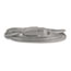 Innovera® Indoor Heavy-Duty Extension Cord, 9ft, Gray Thumbnail 3