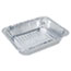 Handi-Foil of America® Aluminum Oblong Container, 1 Pound, 5-9/16 x 4-9/16 x 1-5/8 Thumbnail 3
