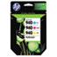HP 940 Ink Cartridges - Cyan, Magenta, Yellow, 3 Cartridges (CN065FN) Thumbnail 1