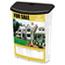 deflecto® Outdoor Literature Box, 10w x 4-1/2d x 13-1/8h, Clear/Black Thumbnail 5