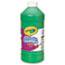 Crayola® Artista II Washable Tempera Paint, 32 oz., Green Thumbnail 1