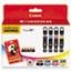 Canon® 4546B007AA (CLI-226) ChromaLife100+ Ink/Paper Combo, Black/Cyan/Magenta/Yellow Thumbnail 1