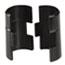 Alera® Wire Shelving Shelf Lock Clips, Plastic, Black, 4 Clips/Pack Thumbnail 3