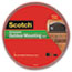 """Scotch™ Exterior Weather-Resistant Double-Sided Tape, 1"""" x 450"""", Gray w/Red Liner Thumbnail 1"""