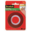 """Scotch™ Double-Sided Mounting Tape, Industrial Strength, 1"""" x 60"""", Clear/Red Liner Thumbnail 1"""