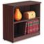 Alera® Alera Valencia Series Bookcase, Two-Shelf, 31 3/4w x 14d x 29 1/2h, Mahogany Thumbnail 1