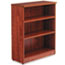 Alera® Alera Valencia Series Bookcase, Three-Shelf, 31 3/4w x 14d x 39 3/8h, Med Cherry Thumbnail 2