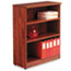 Alera® Alera Valencia Series Bookcase, Three-Shelf, 31 3/4w x 14d x 39 3/8h, Med Cherry Thumbnail 1