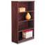 Alera® Alera Valencia Series Bookcase, Four-Shelf, 31 3/4w x 14d x 54 7/8h, Mahogany Thumbnail 1