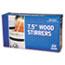 "Royal Paper Wood Coffee Stirrers, 7 1/2"" Long, Woodgrain, 500 Stirrers/Box, 10 Boxes/Carton Thumbnail 1"